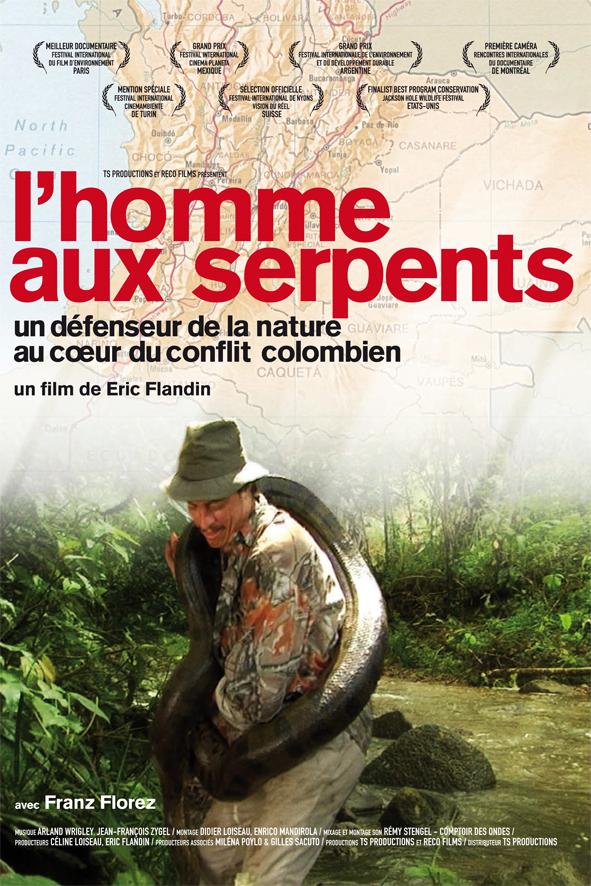 L'HOMME AUX SERPENTS - Eric Flandin